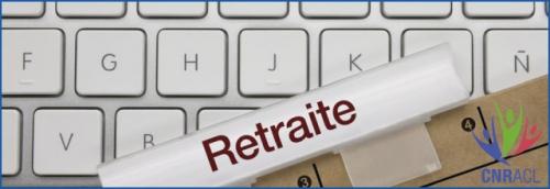 """Fermeture estivale du service """"Retraites"""""""